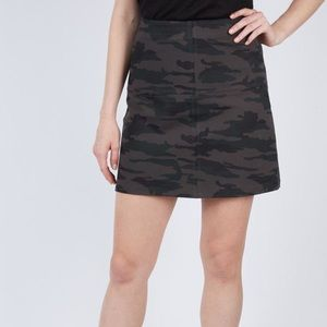 SANCTUARY Easy Mod Green Camouflage Skirt